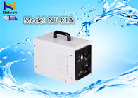 Fashion Auto White Household Ozone Generator For Car / Toilet cleanion
