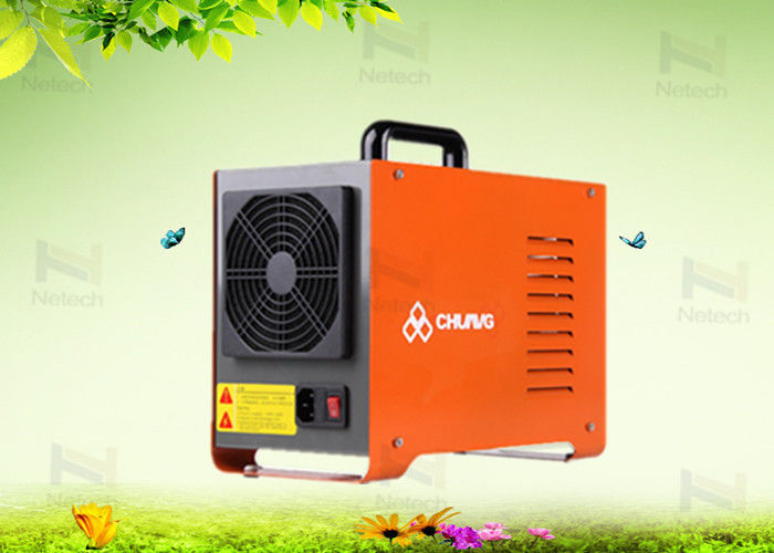 Orange 5g/h Portable Aquaculture Ozone Generator Water Treatment 220V / 50Hz