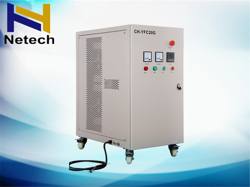 Good Efficiency 20g/Hr Aquaculture Ozone Generator With Built-In Oxygen For Fish Farming